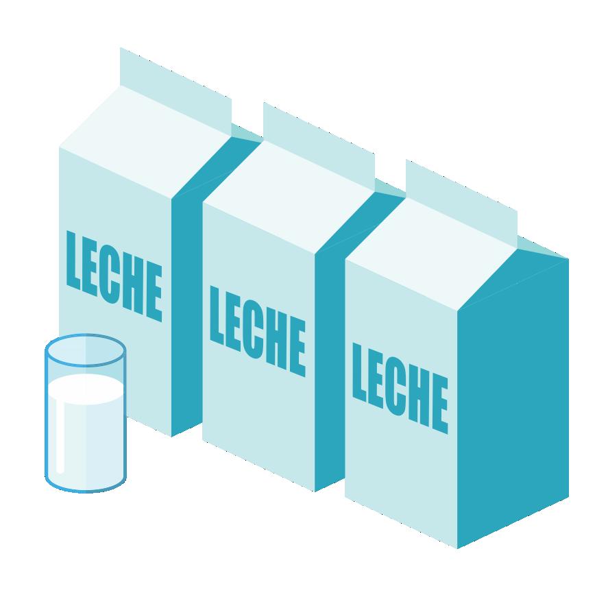 3 Litros de Leche de Vaca