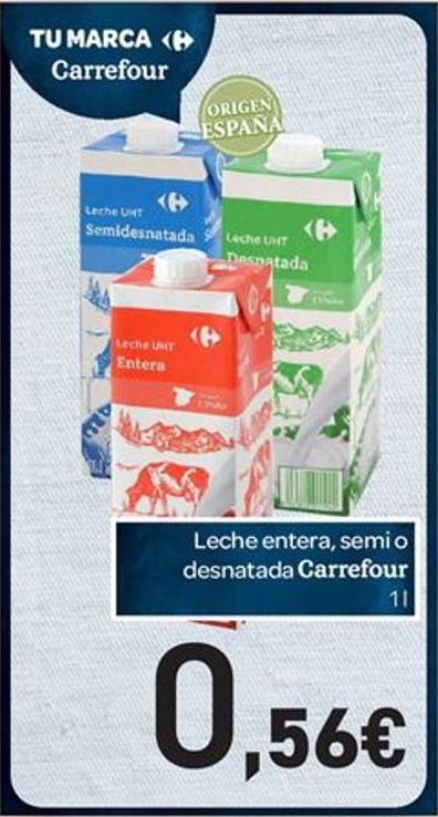 leche carrefour